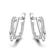 Cavaier Silver Tres Earring