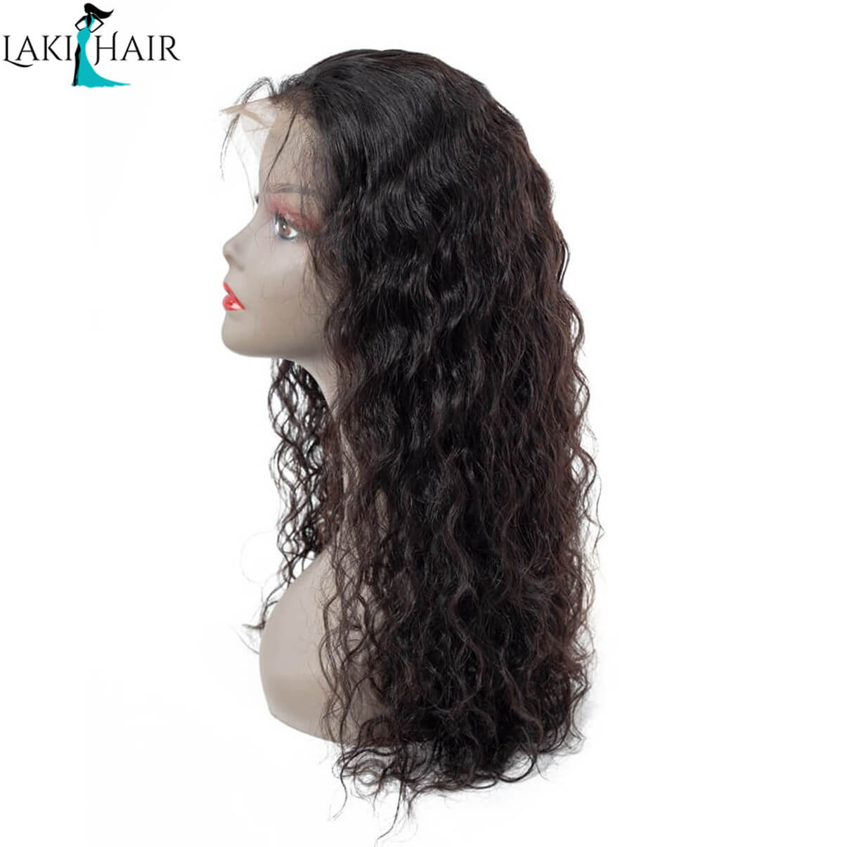 Lakihair 100% Virgin Human Hair Wigs Natural Wave Lace Front Wigs Unprocessed Human Hair Glueless Lace Wigs With Baby Hair