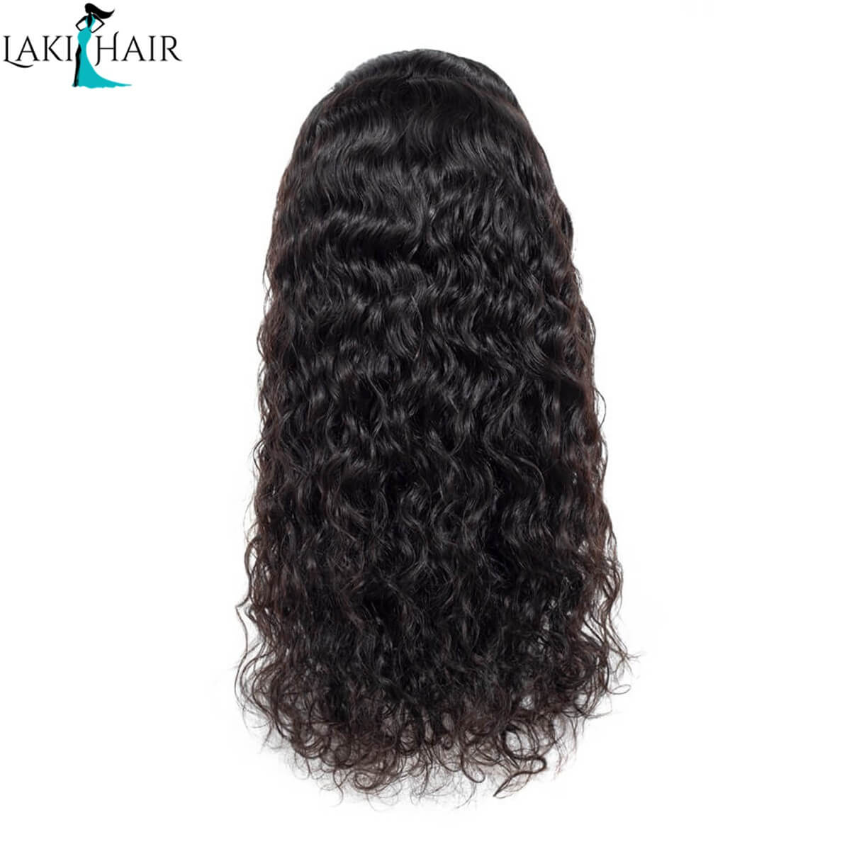 Lakihair Virgin Human Hair Wigs Water Wave Lace Front Wigs Unprocessed Human Hair