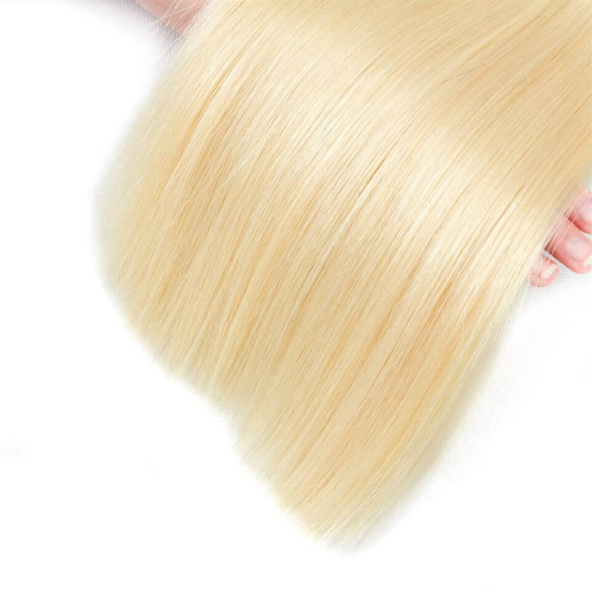 Lakihair 10A 613 Blonde Hair Bundles 1 Bundles Brazilian Virgin Human Straight Hair