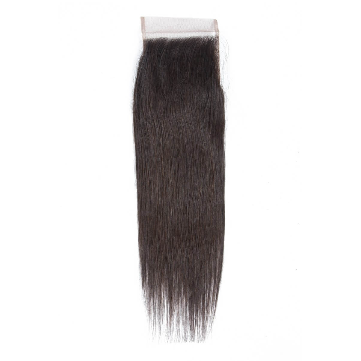 Lakihair 8A Grade 4x4 Lace Closure Brazilian Straight Virgin Human Hair Closure 150% Density Free Part Middle Part Three Part