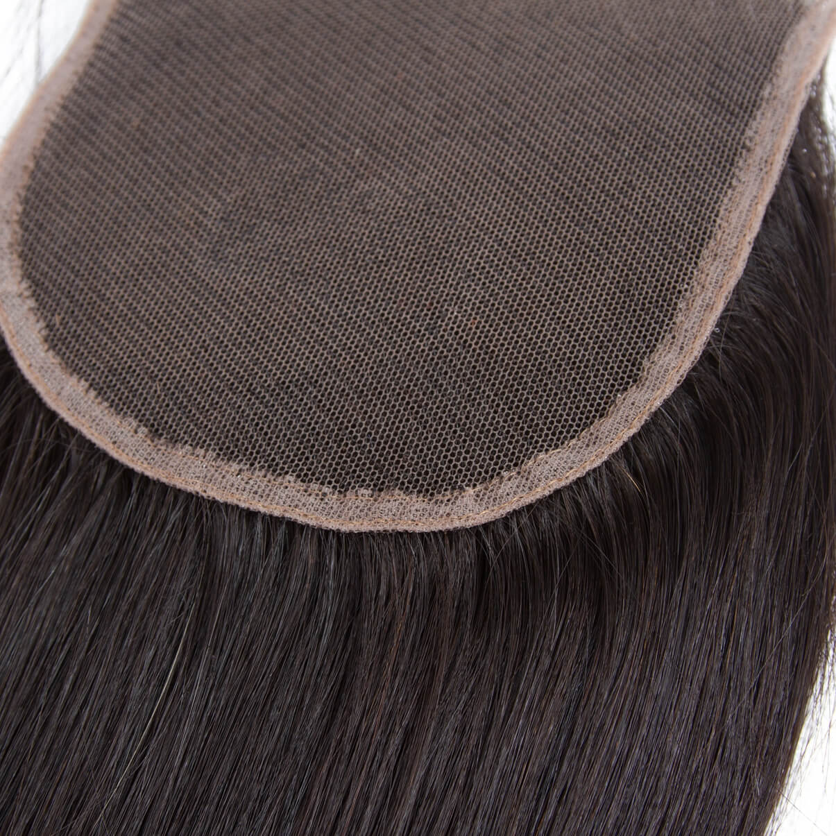 Lakihair 8A Brazilian Unprocessed Virgin Human Straight Hair 4 Bundles With Lace Closure 4x4