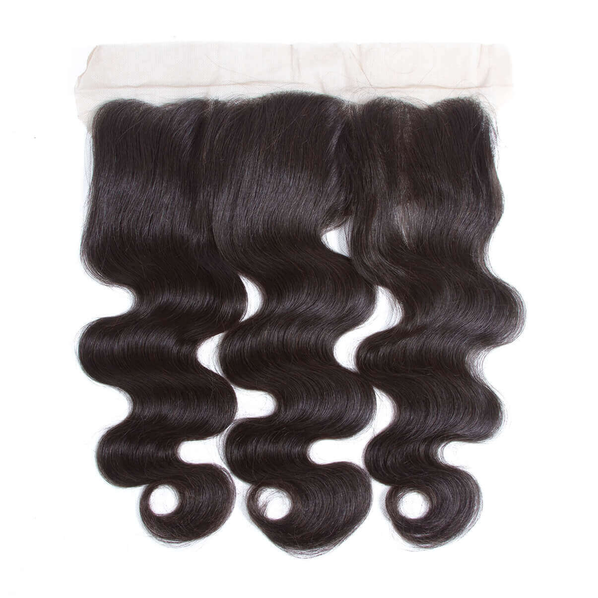 Lakihair 8A Brazilian Human Hair Body Wave 3 Bundles With Frontal Closure 13x4