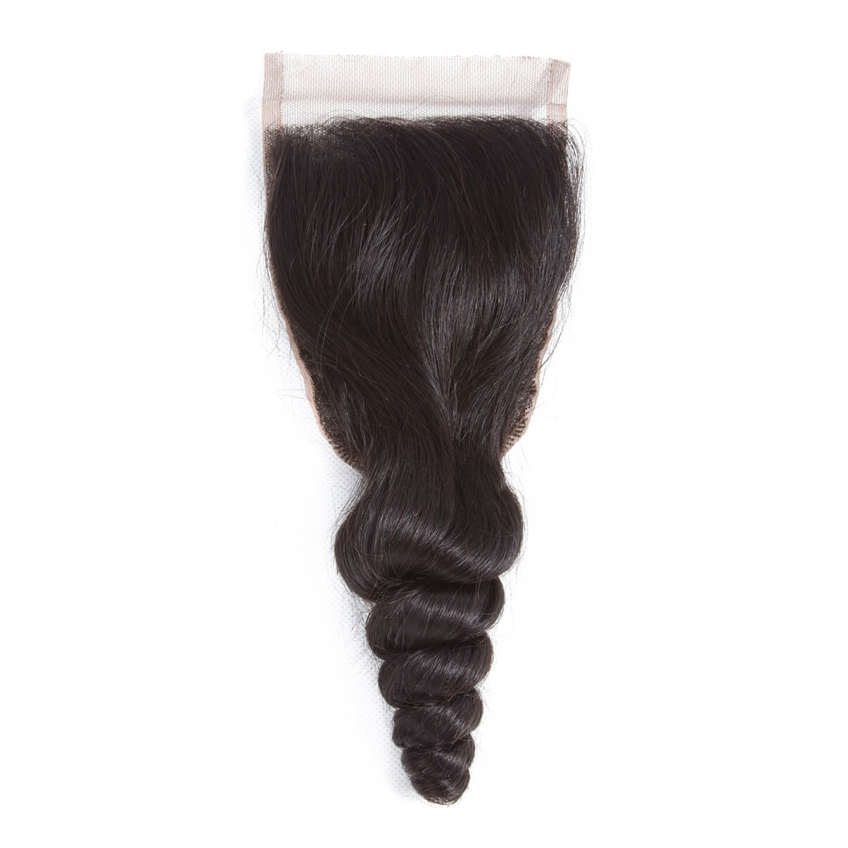 Lakihair 8A Brazilian Virgin Human Hair 4 Bundles With Lace Closure 4x4