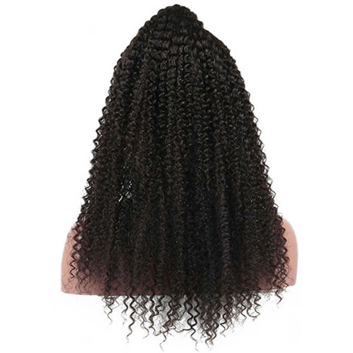 Lakihair Kinky Curly Full Lace Virgin Human Hair Wigs Pre Plucked With Baby Hair
