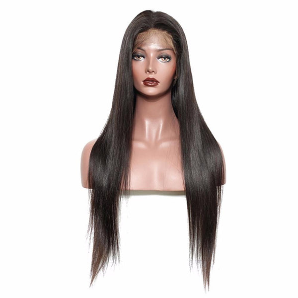 Black Friday Highest Cut 50% OFF 8A 150% 18-20 Inch Straight Lace Front Wigs
