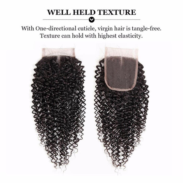 Lakihair Virgin Remy Human Hair Weave 3 Bundles With Lace Closure Brazilian Deep Curly Human Hair BundlesLakihair Virgin Remy Human Hair Weave 3 Bundles With Lace Closure Brazilian Deep Curly Human Hair Bundles