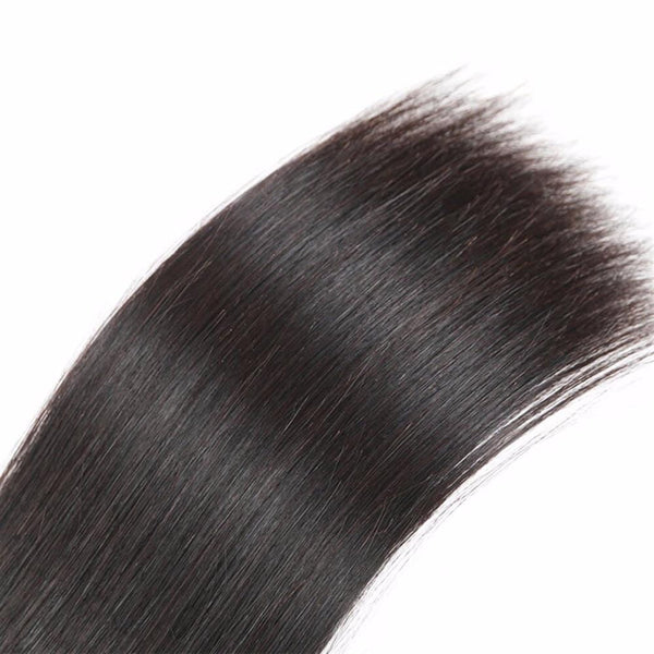 Lakihair 8A Peruvian Virgin Human Hair 3 Bundles Straight Hair 100% Unprocessed Human Hair