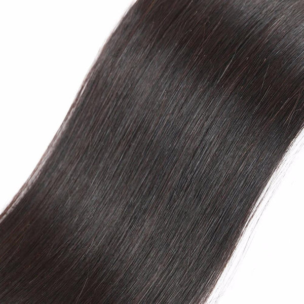 Lakihair 8A Brazilian Human Hair 3 Bundles  Straight Hair 100% Unprocessed Virgin Human Hair
