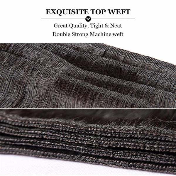 Lakihair 10A Top Quality 1 Bundle Deal Brazilian Water Wave Virgin Human Hair Weaving