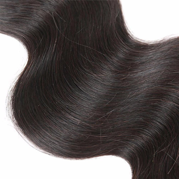 Lakihair 8A Indian Virgin Human Hair Weaving 3 Bundles Deal Body Wave Hair