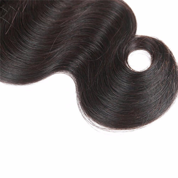 Lakihair 10A Body Wave 100% Virgin Human 3 Bundles Hair Extensions