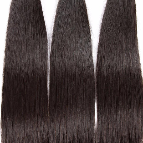 Lakihair 8A Brazilian Virgin Human Hair 4 Bundles Straight Hair Bundles Wholesale Price