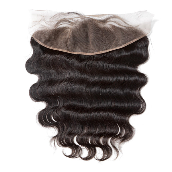 Lakihair 10A Body Wave Pre Plucked  13x4 Lace Frontal Virgin Human Hair