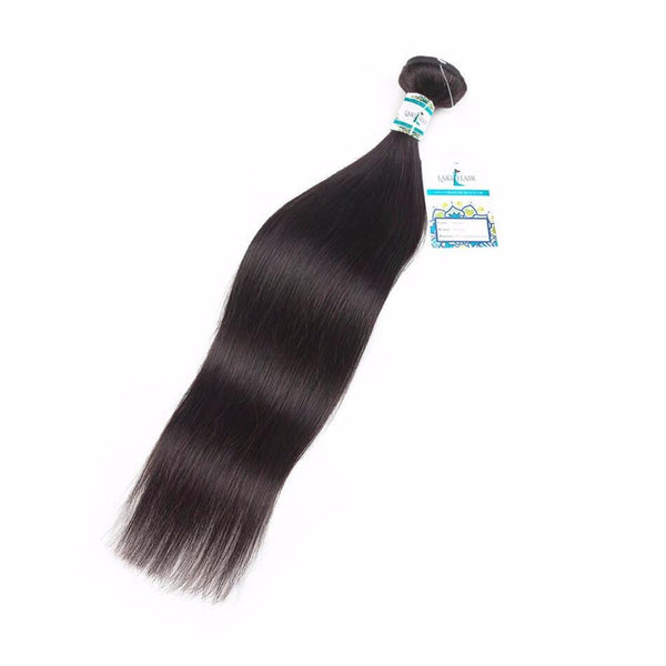 Lakihair 8A Virgin Human Hair 1 Single Bundle Deals Straight Hair 1 Bundle Hair Weaving