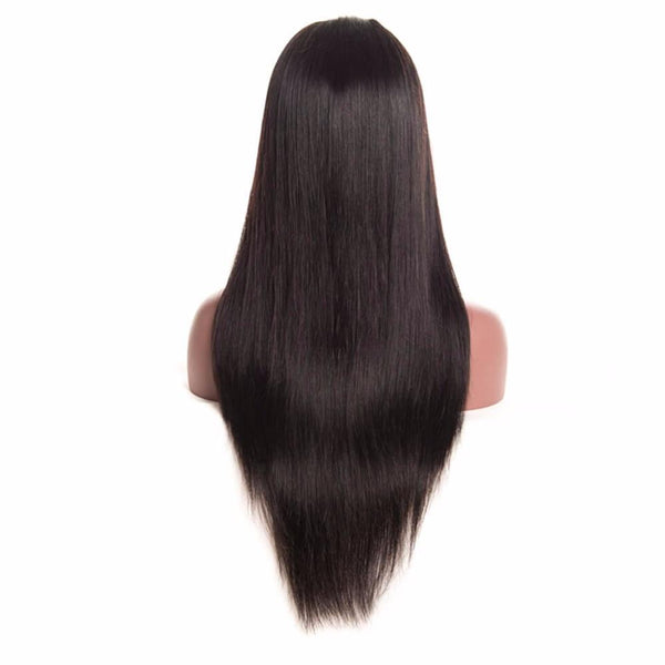 Lakihair Virgin Human Hair Lace Wigs 360 Lace Front Wigs 8A Straight Hair Wigs