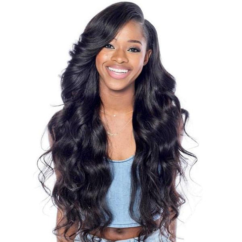 Lakihair 360 Lace Frontal Wigs 8A Body Wave 180% Density Lace Front Human Hair Wigs Pre Plucked