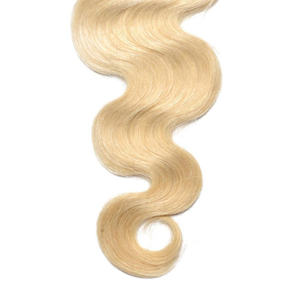 Lakihair 8A 613 Blonde Hair Bundles Body Wave Virgin Brazilian Hair 3 Bundles Hair Extensions