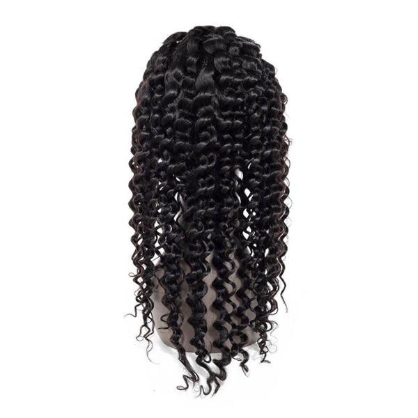 Lakihair Lace Front Wigs 8A Deep Wave Virgin Human Hair Wigs With Baby Hair Pre Plucked