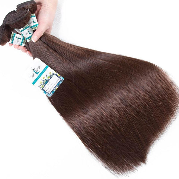 Lakihair Straight Human Hair 4 Bundles 10A Brazilian Blonde Hair Weave Free Shipping Full Ends