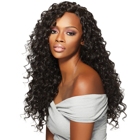 Lakihair Full Lace Virgin Human Hair 8A Wigs Deep Wave 150% Density Pre Plucked With Baby Hair