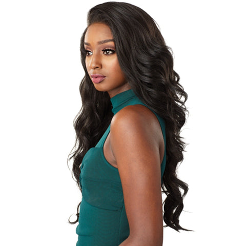 Lakihair Full Lace Virgin Human Hair Wigs 8A Loose Wave 150% Density Pre Plucked With Baby Hair