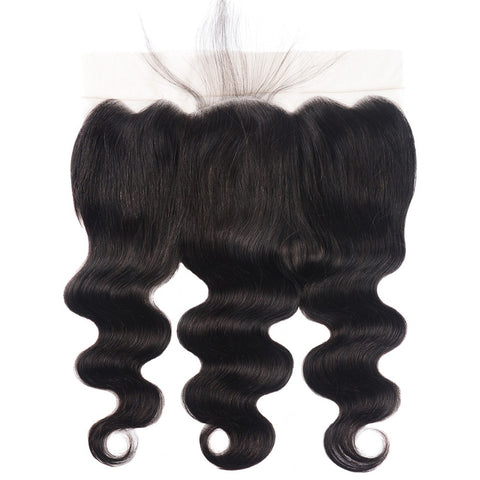 Lakihair Brazilian Body Wave 13x6 Frontal with Baby Hair Ear to Ear Lace Frontal Closure