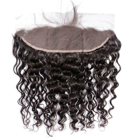 Lakihair 10A Brazilian Virgin Human Hair Water Wave Lace Frontal 13x4 Ear To Ear Frontal