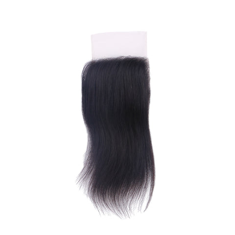 Lakihair 4*4 HD Lace Closure Virgin Human Hair Natural Black HD/Film Lace