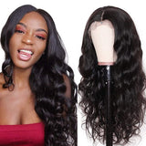 Lakihair Loose Wave 8A Lace Front Wigs 100% Virgin Human Hair Wigs With Baby Hair Natural Looking
