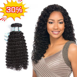 Lakihair 8A Brazilian Deep Wave 3 Bundles 100% Unprocessed Human Hair Weaving Soft Full Bundles