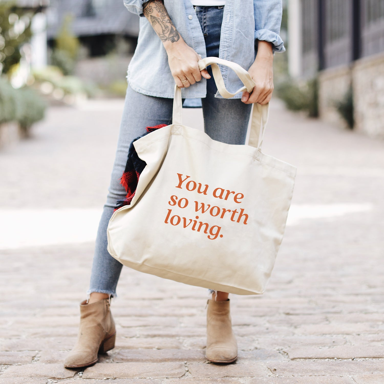 You Are – Large Tote Bag