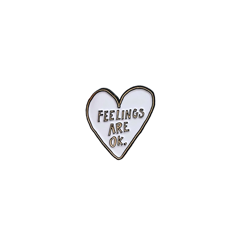 Feelings Are OK Pin