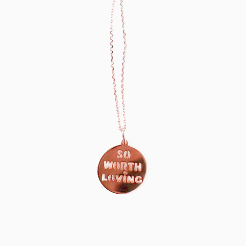 Rose Gold Necklace (Rosie)