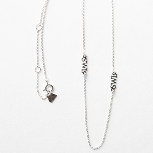 The Silver Linings Necklace (2 LEFT!)