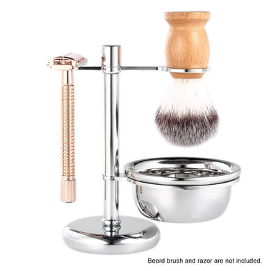 Stainless Steel Shaving Caddie and soap bowl set