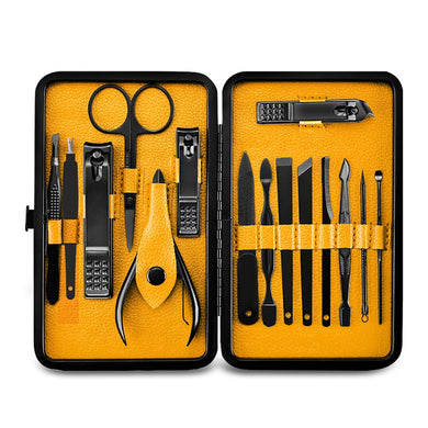 Gentleman Revival Professional Manicure Set Yellow | Grooming Accessories