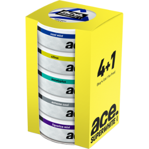 ACE super white 4+1