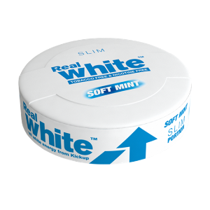kickup real white soft mint slim