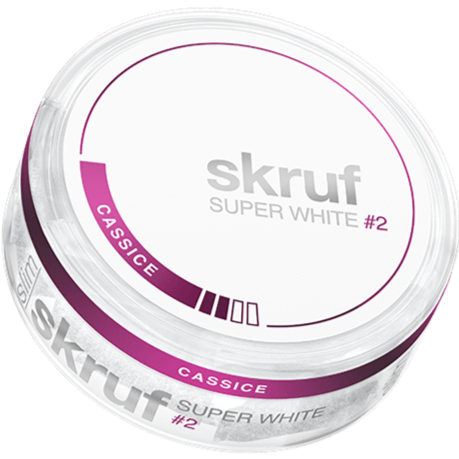 Super White #2 Cassice Can skruf