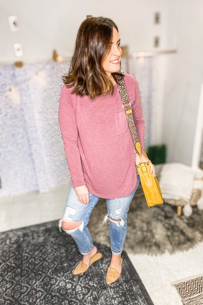 BOHO RUST TOP - Shop Juni