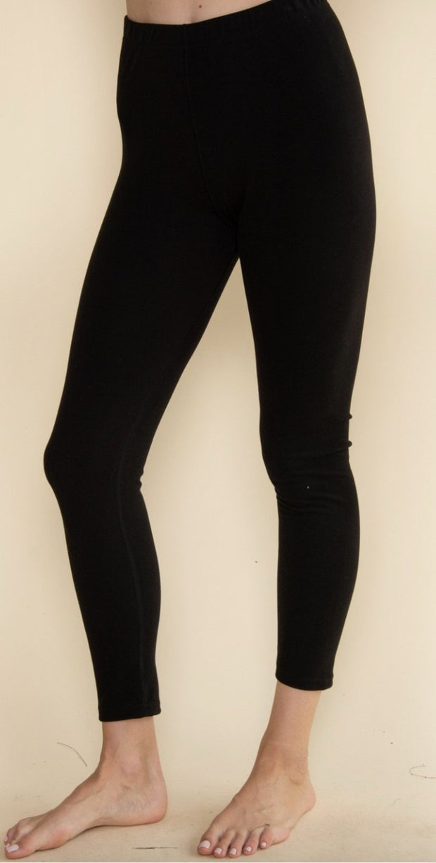 Thick Layering Leggings - Shop Juni