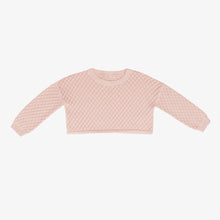 Load image into Gallery viewer, Lulu Crop Sweater, Peach Blossom