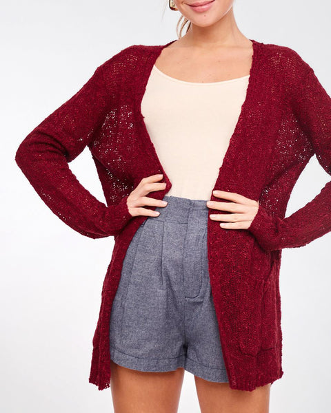 All That She Wants Knit Cardigan