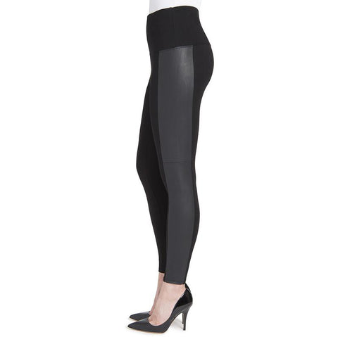 Lysse Black Vegan Leather Legging
