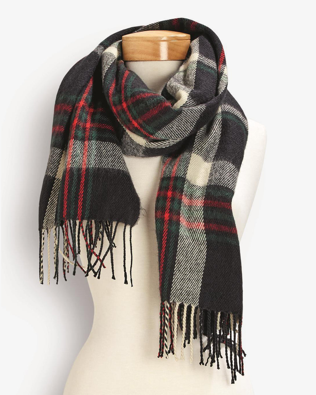 Plaid Convertible Scarf/Shawl