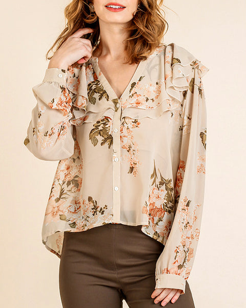 Truly Floral Blouse