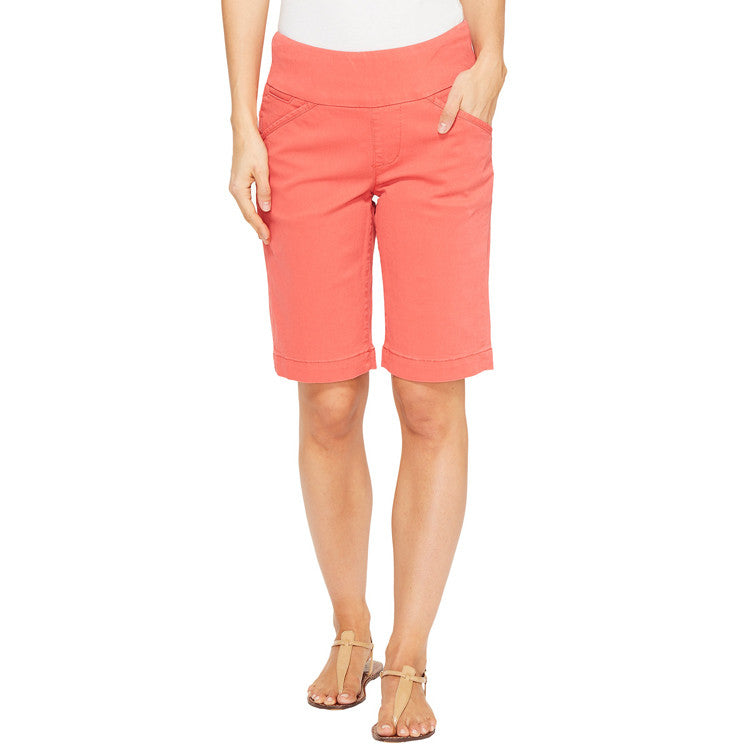 Jag Jeans Ainsley Pull On Bermuda Short Coral Spice