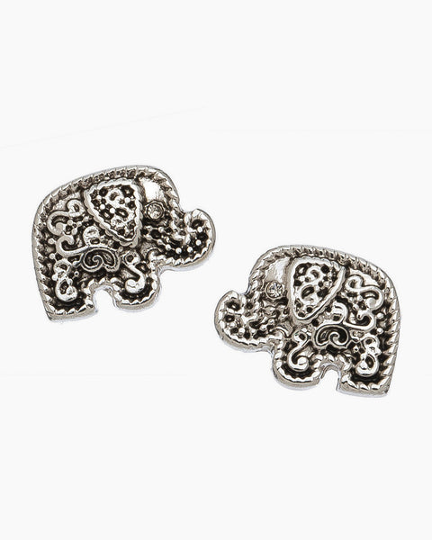 Filigree Elephant Earring