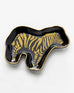 Black Gold Ceramic Zebra Trinket Dish Savvy Chic Boutique Cleveland Ohio